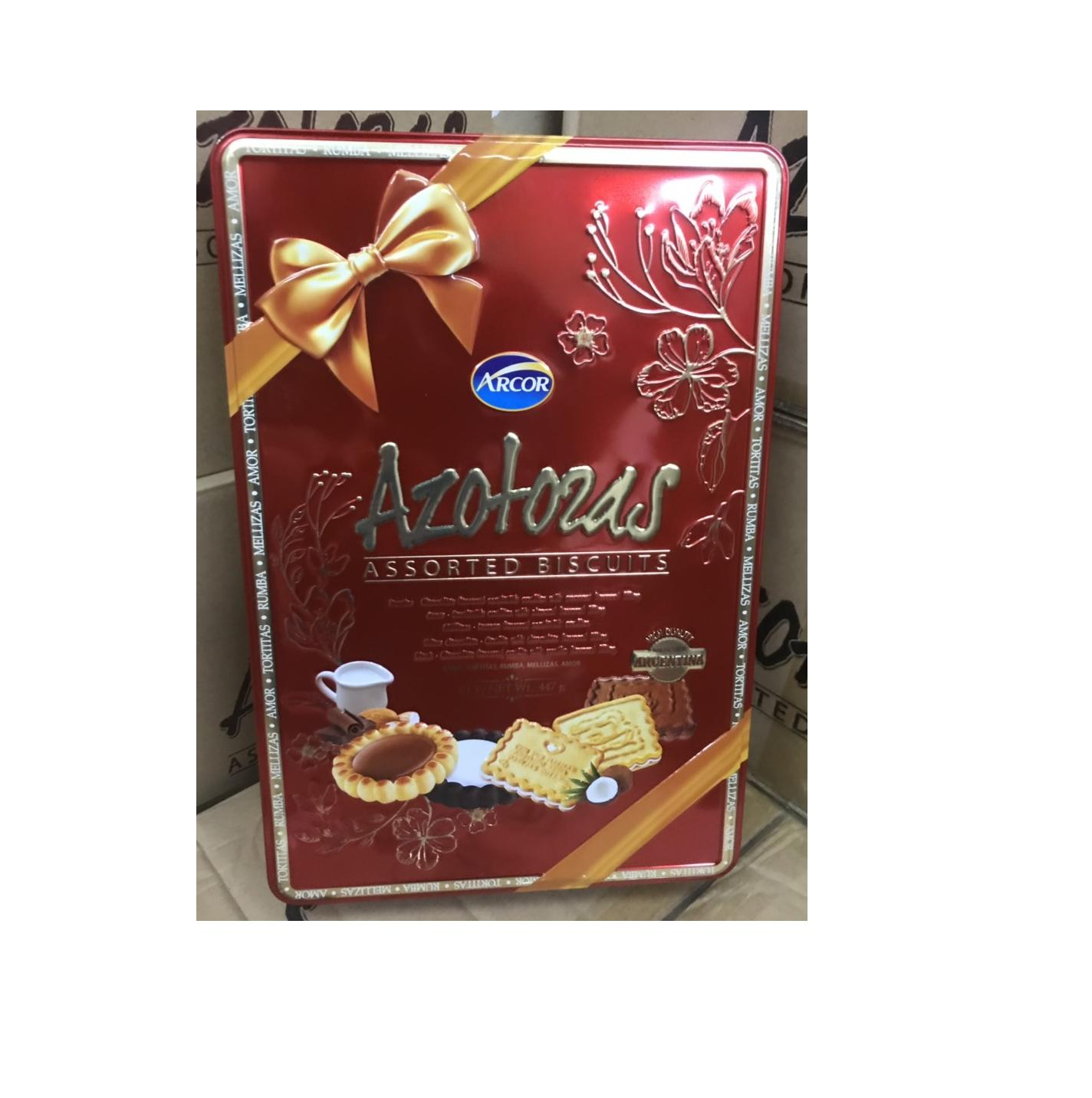 Bánh Argentina Arcor Azotozas 447g new