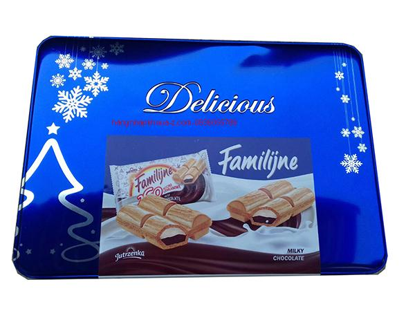 Bánh Balan Delicious Familijine Milky Chocolate 440g