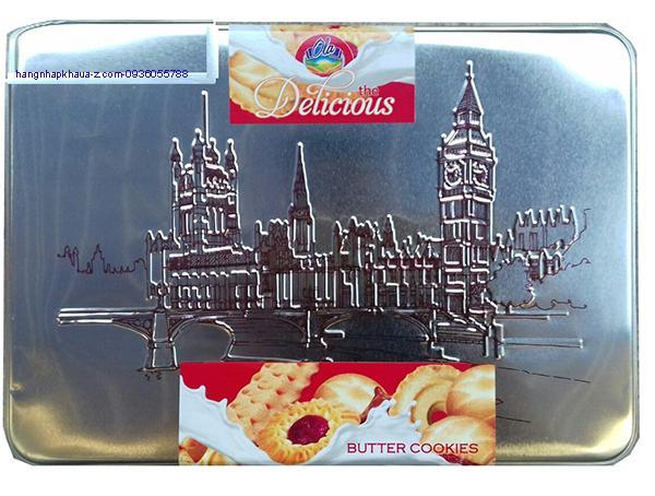Bánh Balan Ola Delicious Butter Cookier  450g màu bạc