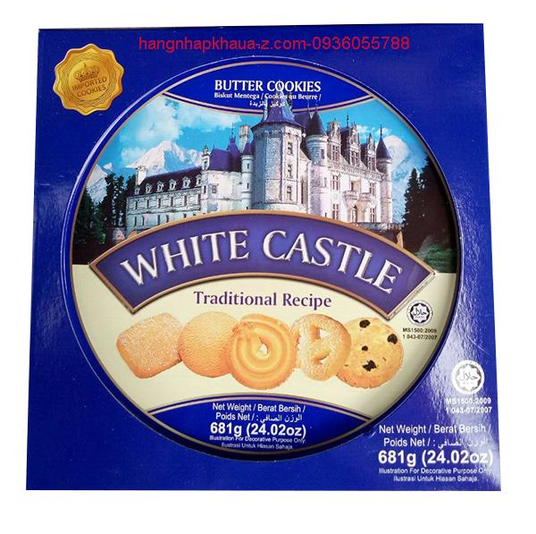 Bánh Butter Cookies  White Castle 681g