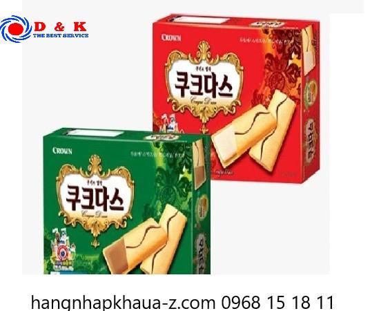 Bánh Crown Hàn Quốc 288 g