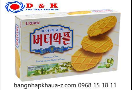 Bánh Crown trắng 234g