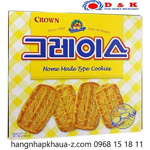 Bánh Crown vàng Hàn Quốc 298 g