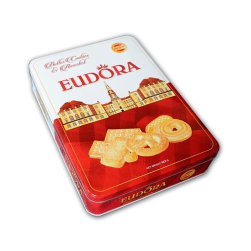 Bánh Eudoraquy bơ  hộp thiếc 423g
