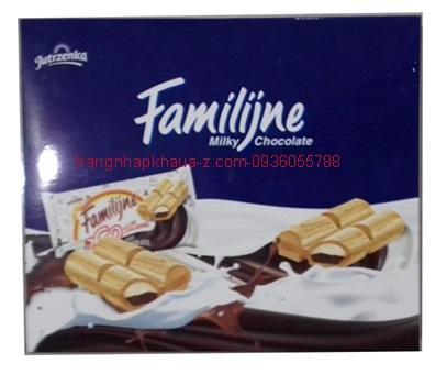 Bánh Familijine Milky Chocolate 280g  hôp xanh