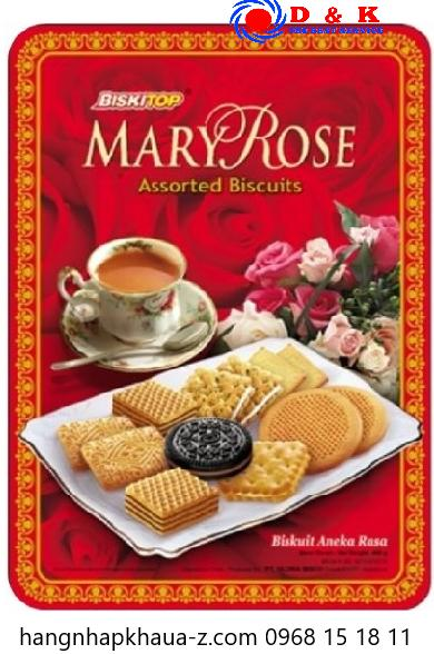 Bánh Indonesia Marry Rose 400g hộp đỏ