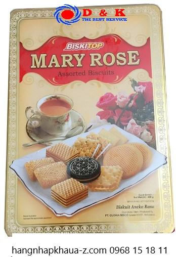 Bánh Indonesia Marry Rose 400g hộp vàng
