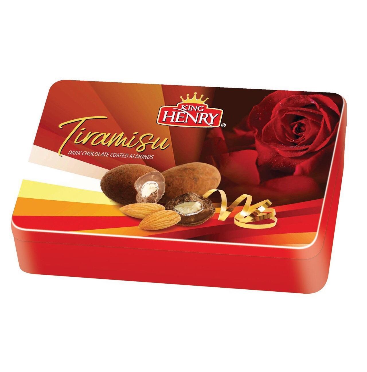 Bánh King Henry  Tiramisu Asorted 316g ( màu đỏ 2)