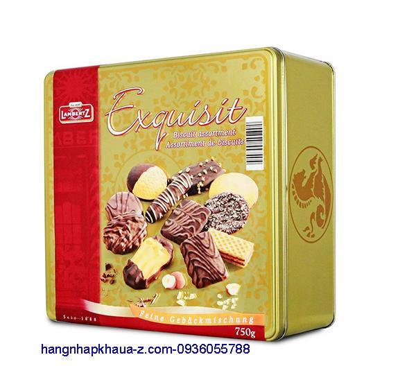 Bánh Lambertz Exquisit 750g vàng