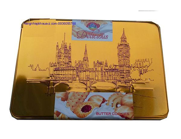 Bánh Ola Delicious Butter Cookier màu vàng 450g