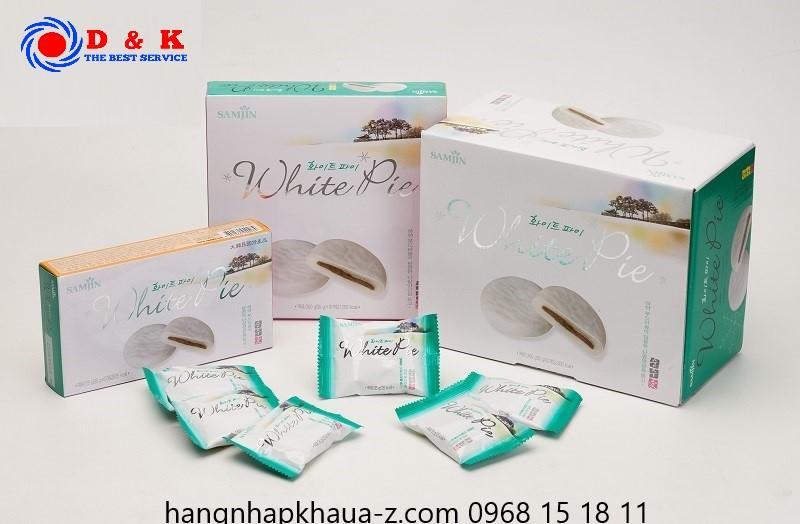Bánh Samjin White pie Hàn Quốc 310g