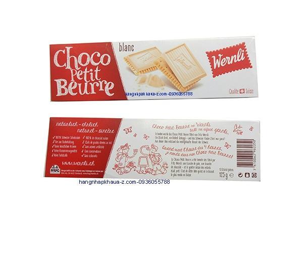 Bánh Thụy Sĩ Werni hộp giấy 125