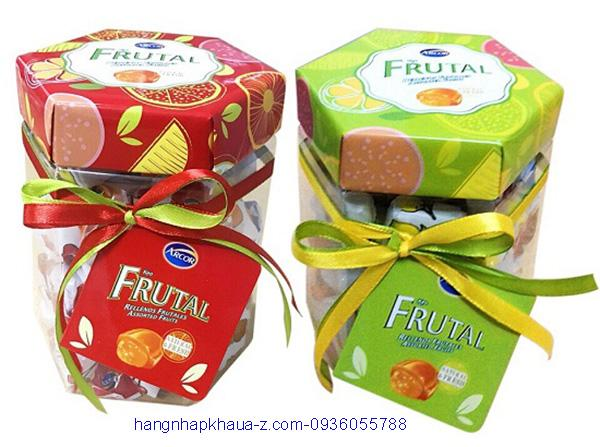 Kẹo Arcor Rellenos Frutales 300g