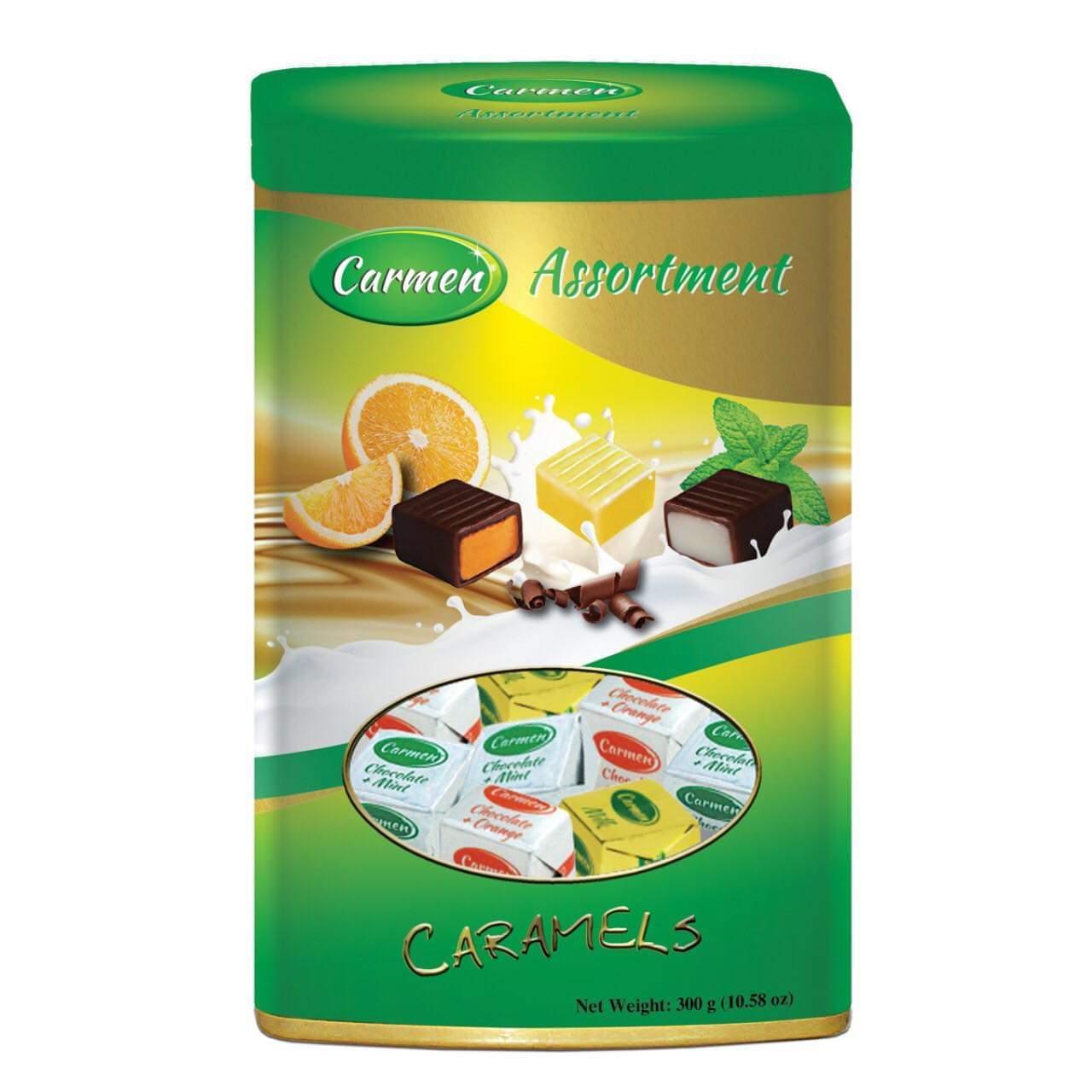Kẹo Caramel lon trụ 300g