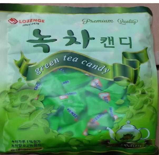 Kẹo Lozenge vị trà xanh 280g