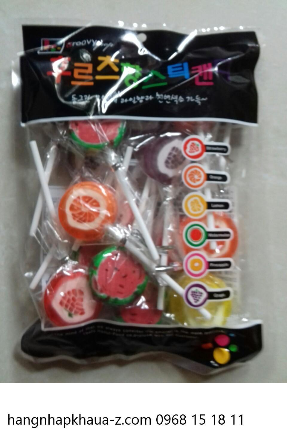 Kẹo mút Hàn Quốc Groovy Pop 200g