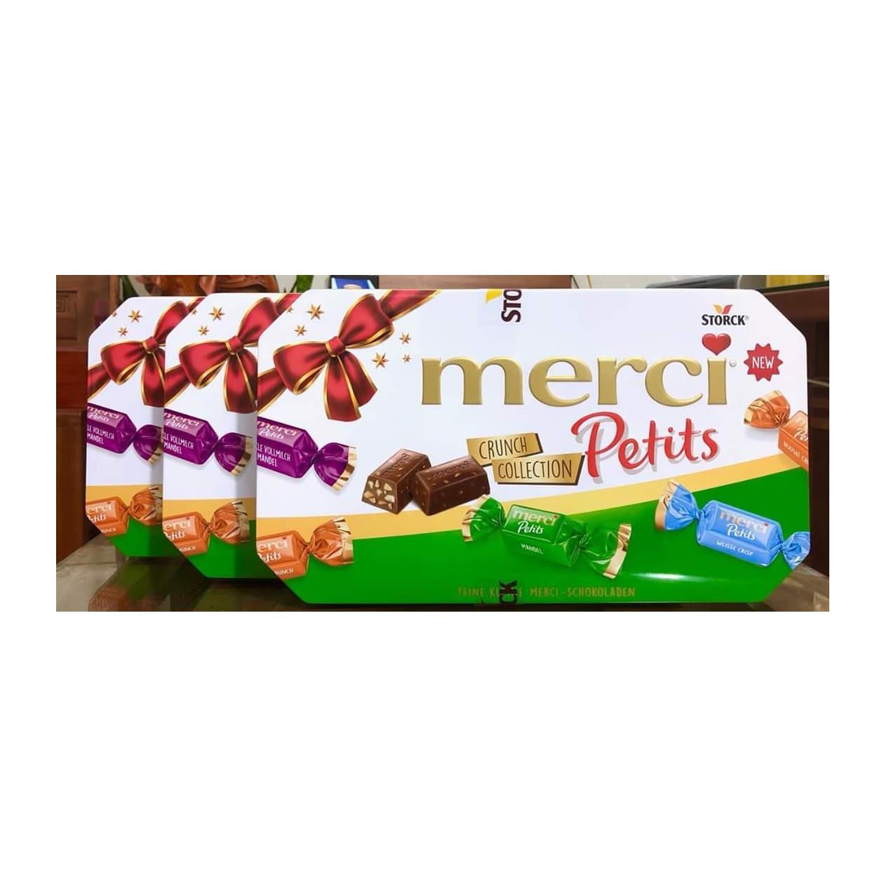 Kẹo socola Merci Petits new