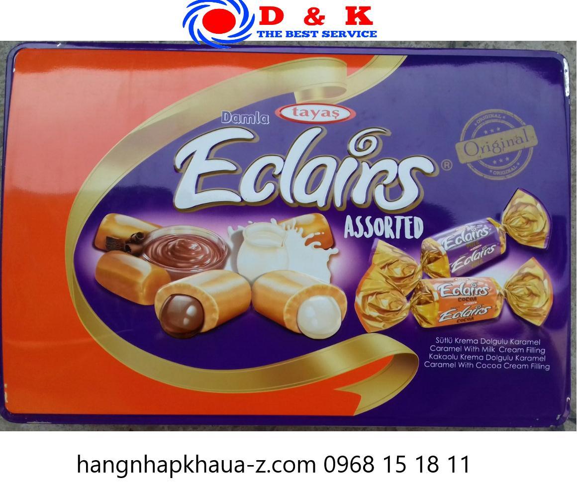 Kẹo Thổ Nhĩ Kỳ Tayas Damal cacao sữa 600g