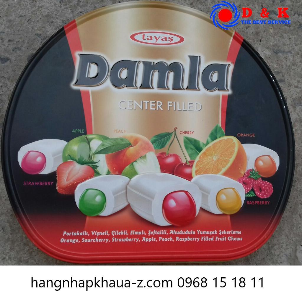 Kẹo Thổ Nhĩ Kỳ Tayas Damal Center Filled 600g