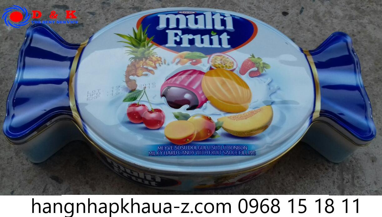 Kẹo Thổ Nhĩ Kỳ Tayas Multi Fruits