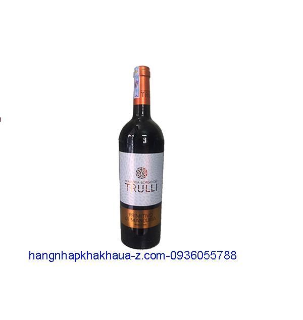 Rượu vang Ý Trulli 14,5%
