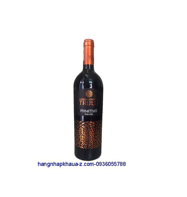 Rượu vang Ý Trulli 15%
