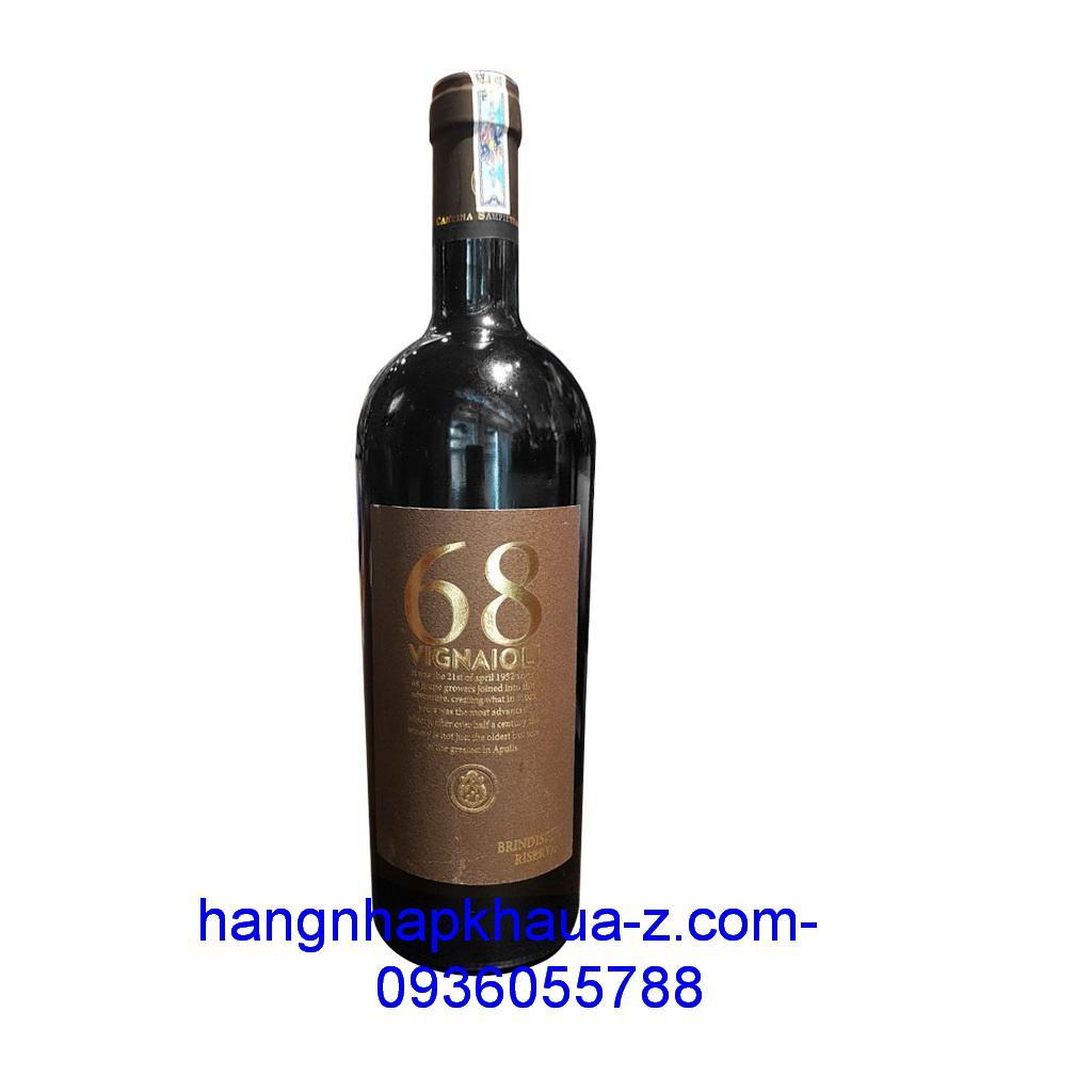 Rượu vang Ý Vignaioli 68