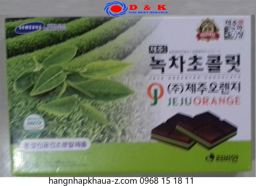 Socola Jeju  Hàn Quốc vị trà xanh 285g